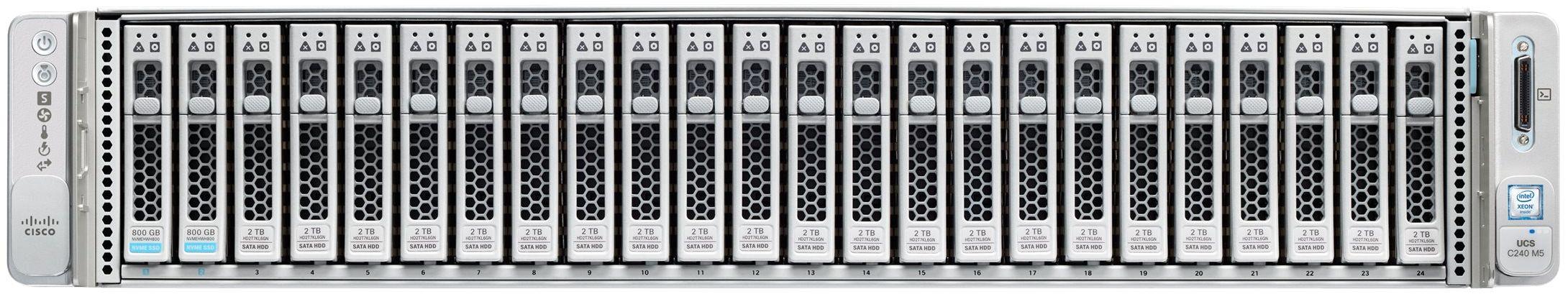 Cisco UCS C240 M5 24SFF