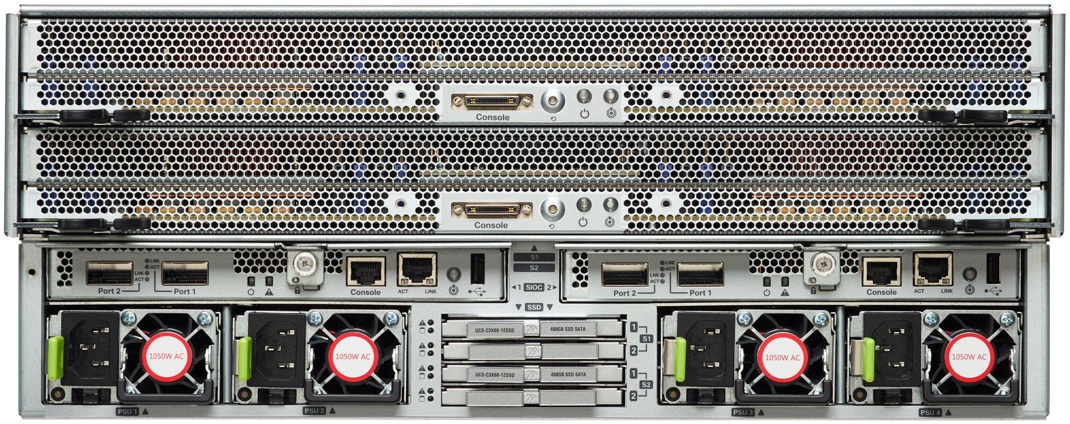 Cisco UCS C3260 Rear