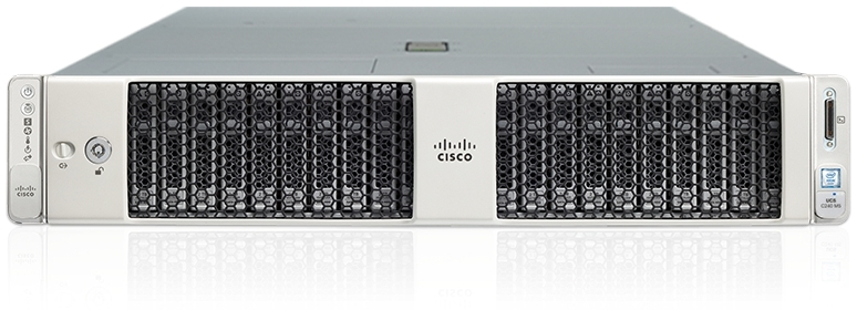 Cisco UCS C240 M5 Front