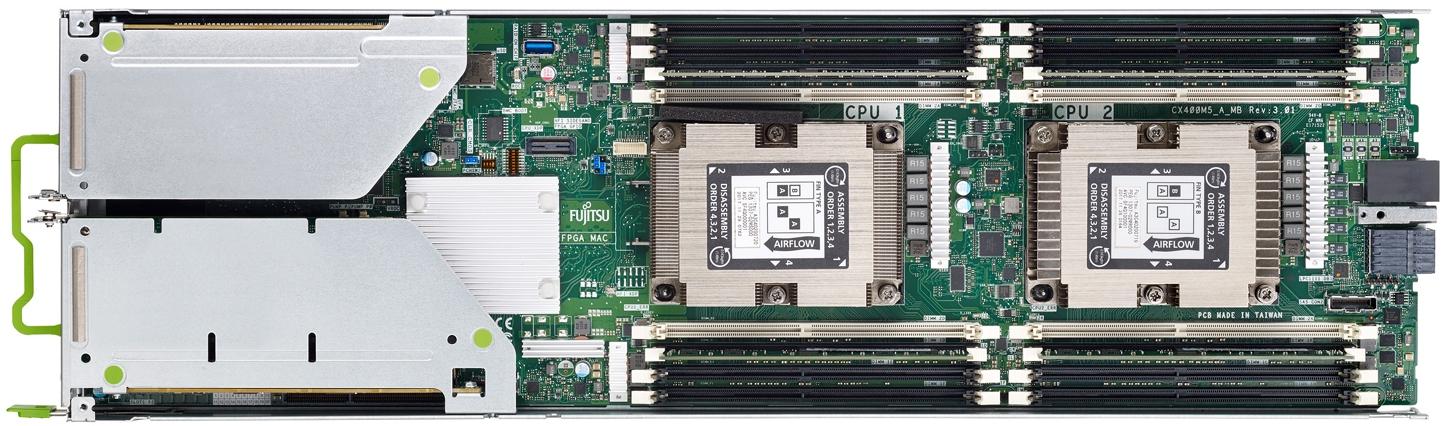 Fujitsu PRIMERGY CX2560 M5 Top