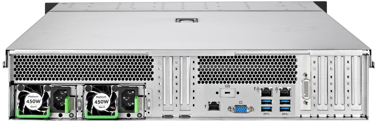 Fujitsu PRIMERGY RX2520 M5 Rear