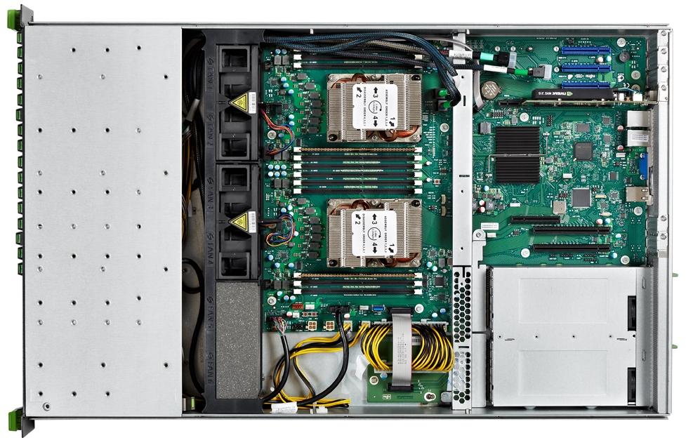 Fujitsu PRIMERGY RX2520 M5 Top