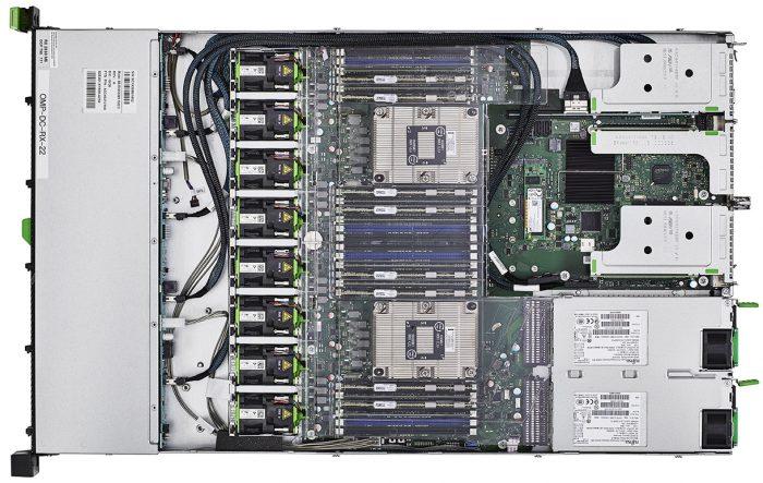 Fujitsu PRIMERGY RX2530 M5 Top