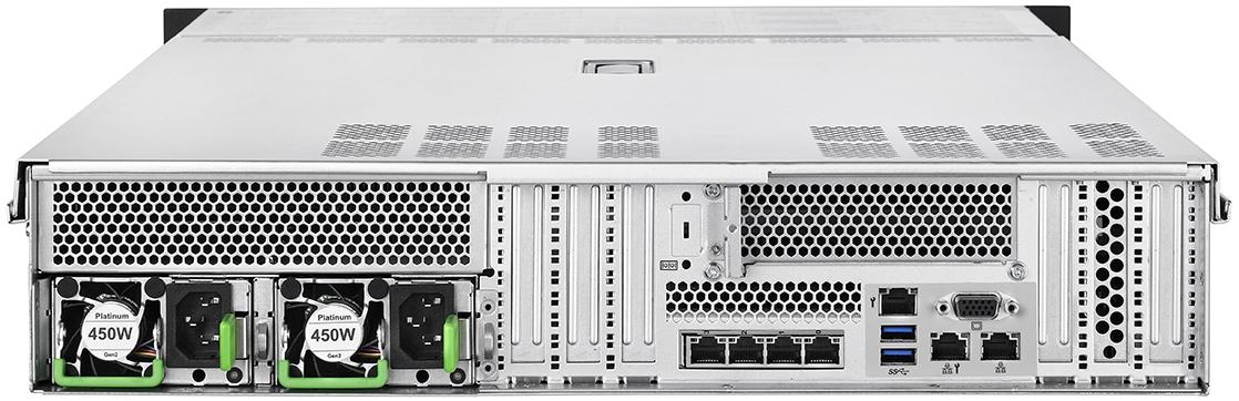Fujitsu PRIMERGY Server RX2540 M5 Rear