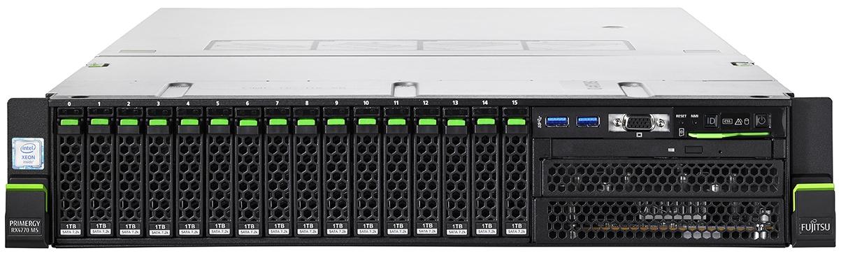 Fujitsu PRIMERGY Server RX4770 M5 Front