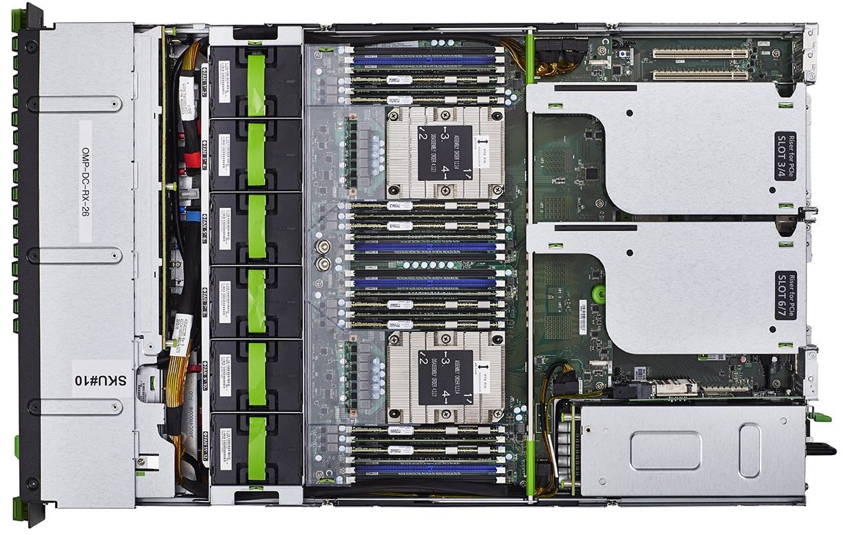 Fujitsu PRIMERGY Server RX4770 M5 Top