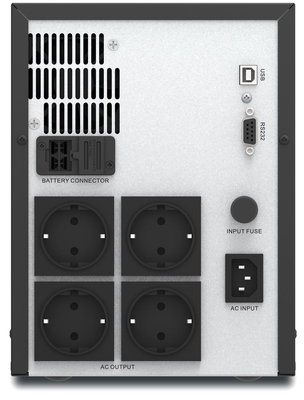 APC Easy UPS SMV2000AI-GR Rear