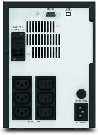 APC Easy UPS SMV1500AI Rear