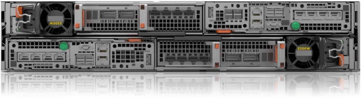 Dell EMC Unity XT 680F Rear