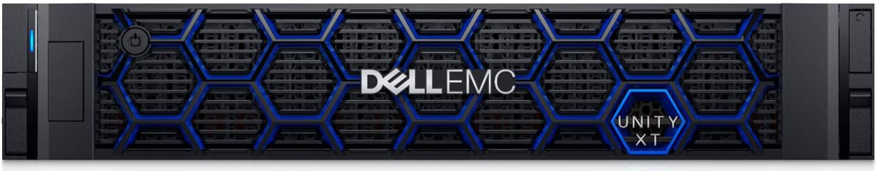 Dell EMC Unity XT Front