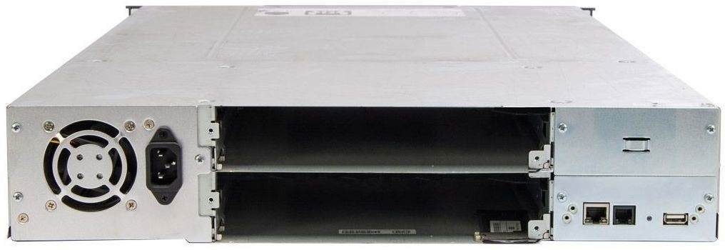 HPE StoreEver MSL2024 Tape Library Rear
