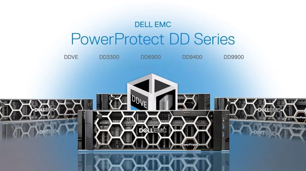 Dell EMC PowerProtect DD Series Appliances